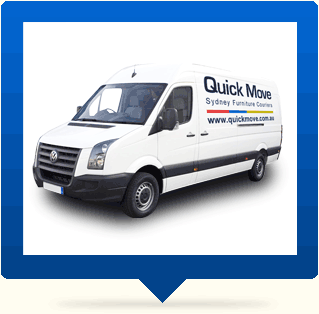 sydney Couriers van quick move